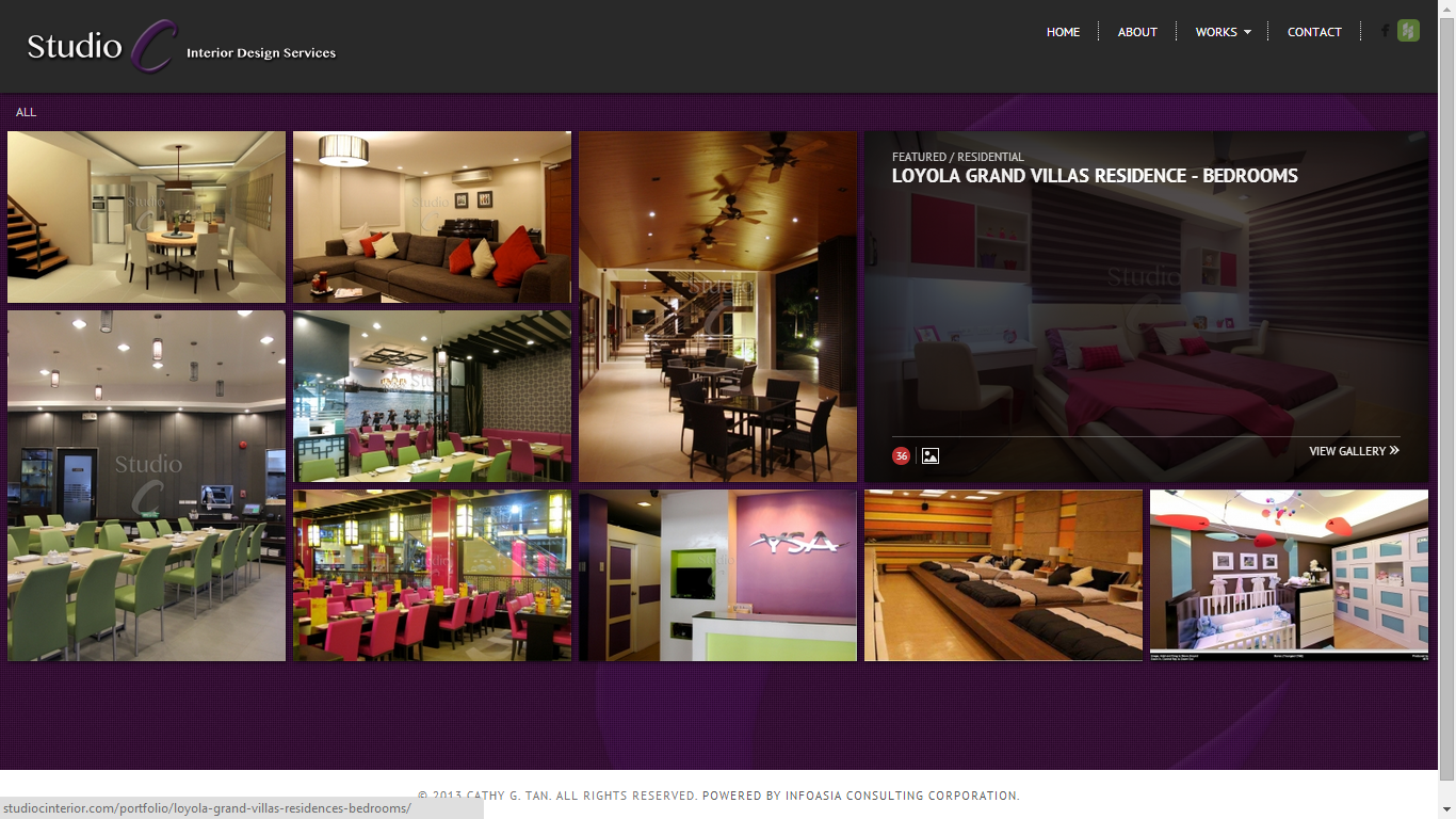 Studio c interior services abram john limpin for Studio c home design